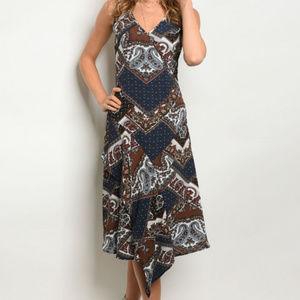 Dresses & Skirts - PAISLEY MIDI DRESS